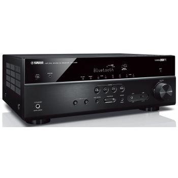 Yamaha RXV485+MINX12 BLACK Cinema Pack + X201 SUB Conjunto Home Cinema