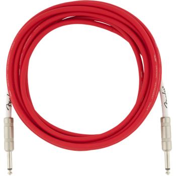 Fender Original 4,5m Fiesta Red Cable Jack Mono a Jack Mono