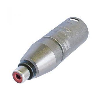 Neutrik NA2 MPMF Adaptador XLR Macho a RCA