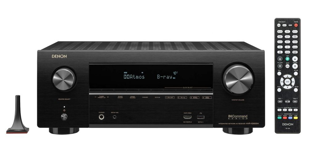 DENON AVR X2600 Receptor Audio Video Home Cinema AVRX2600 mando distancia