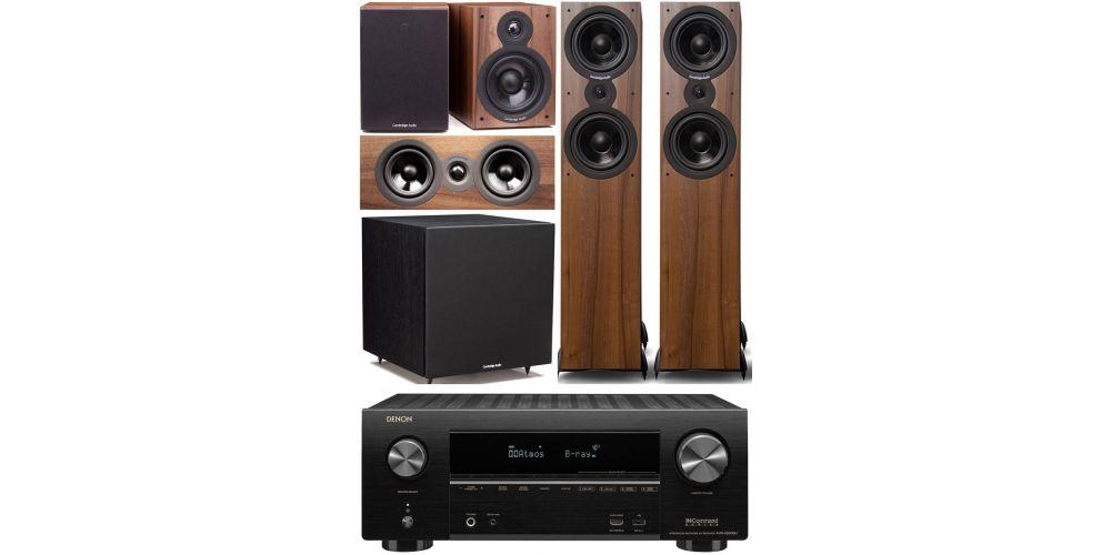 denon avrx2600 Cambridge Audio SX 80 cinema pack sx120 walnut