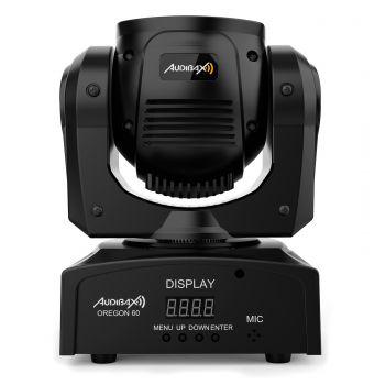 Audibax Oregon 60 Cabeza Móvil Discoteca Beam 60w RGBw + Anillo LED
