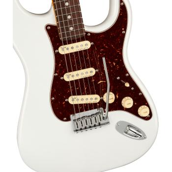 Fender American Ultra Stratocaster RW Arctic Pearl