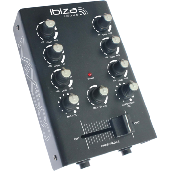 Ibiza Sound MIX500 MESA DE MEZCLAS DE 2 CANALES