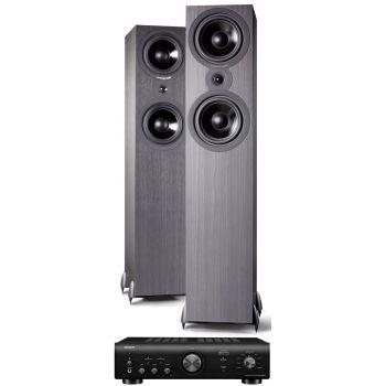 Denon PMA-600 NE Black+Cambridge Audio SX80 BK Conjunto audio