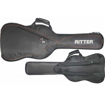 RITTER Funda para guitarra electrica RGP2-E ELEC NEGRO.