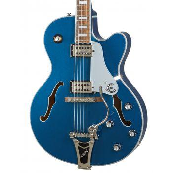 Epiphone Emperor Swingster Delta Blue Metallic Guitarra Eléctrica