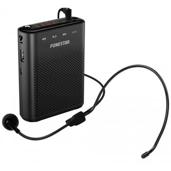 Fonestar ALTA-VOZ 30 Amplificador/ Altavoz Portátil con Micrófono Cabeza Manos Libres