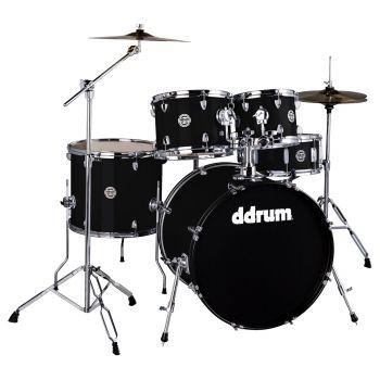 Ddrum D2 MIDNIGHT BLACK COMPLETE KIT (5P) Set de Batería Acústica D2-522-MB