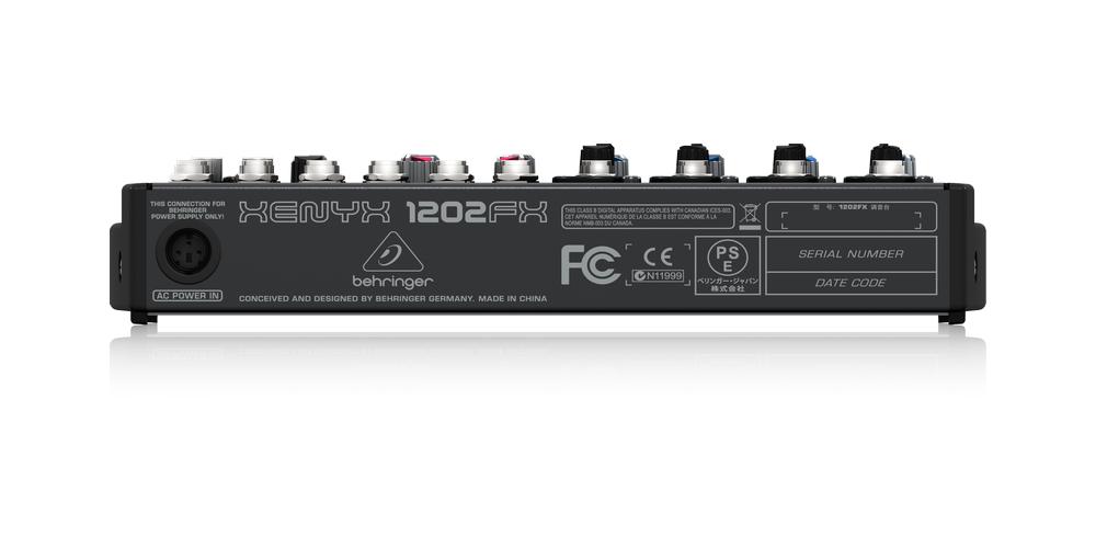 behringer 1202fx mezclador conexiones
