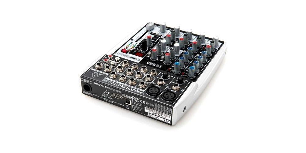 BEHRINGER QX1002USB XENYX Mezclador para Directo QX-1002 USB