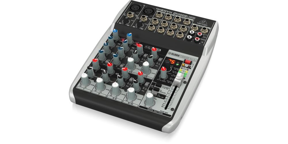 behringer QX1002USB xenyx mezclador