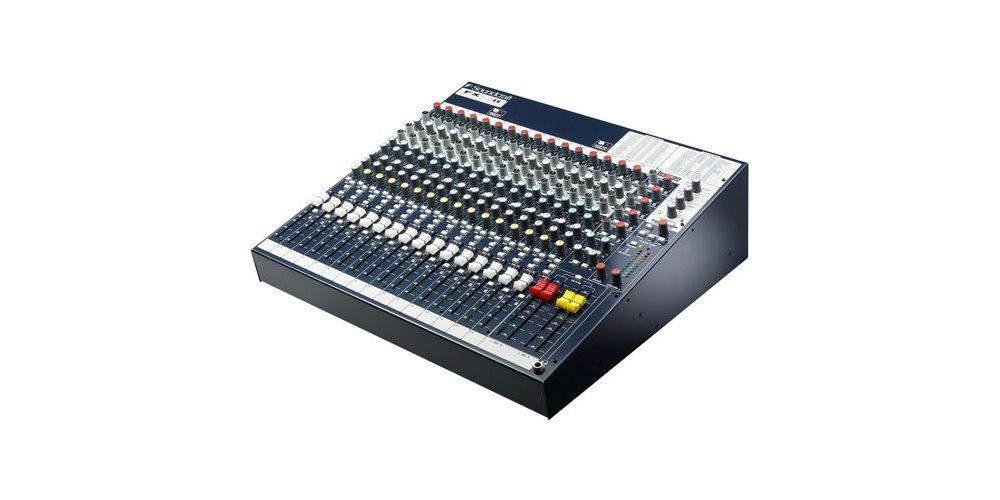 SOUNDCRAFT FX16 II  Mesa directo 16 Entradas FX-16II