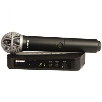 SHURE BLX24 PG58 Microfono inalambrico de Mano BLX-24PG58