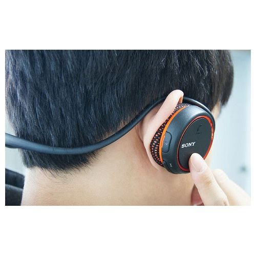 SONY MDR-AS700BT D Auricular Bluetooth NFC para deporte NARANJA
