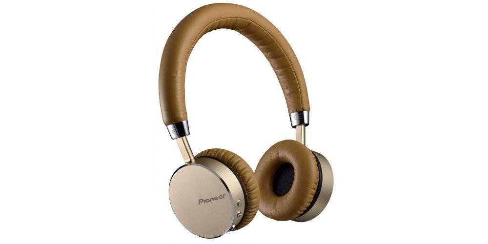 pioneer se mj561bt silver auriculares bluetooth marron