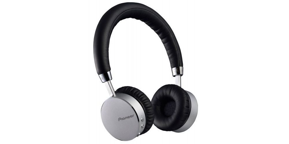 pioneer se mj561bt silver auriculares bluetooth plateado manos libre