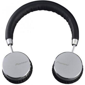 pioneer se mj561bt silver auriculares bluetooth plateado