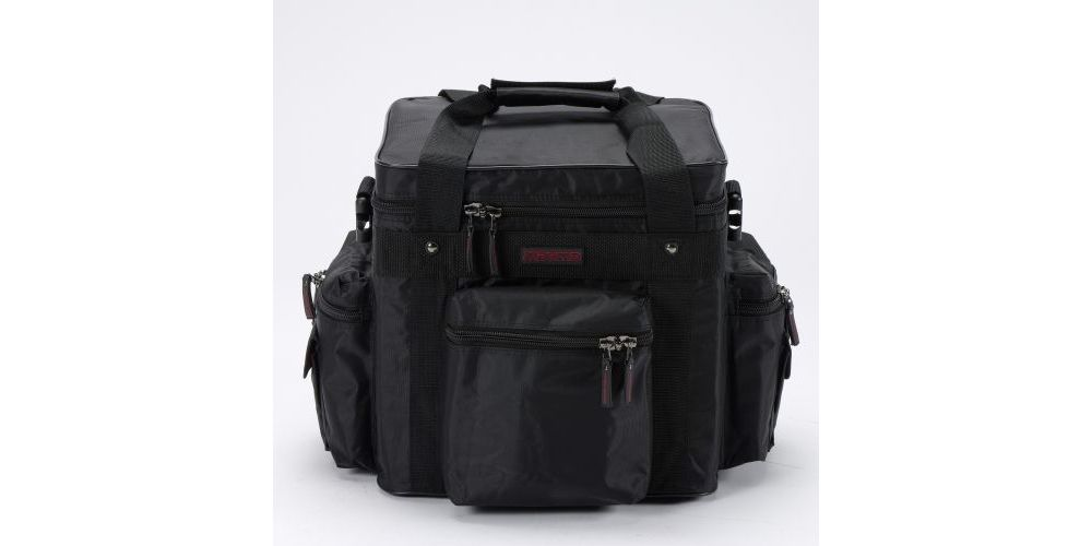 Magma LP Bag 100 Profi Black Red Maleta para Discos