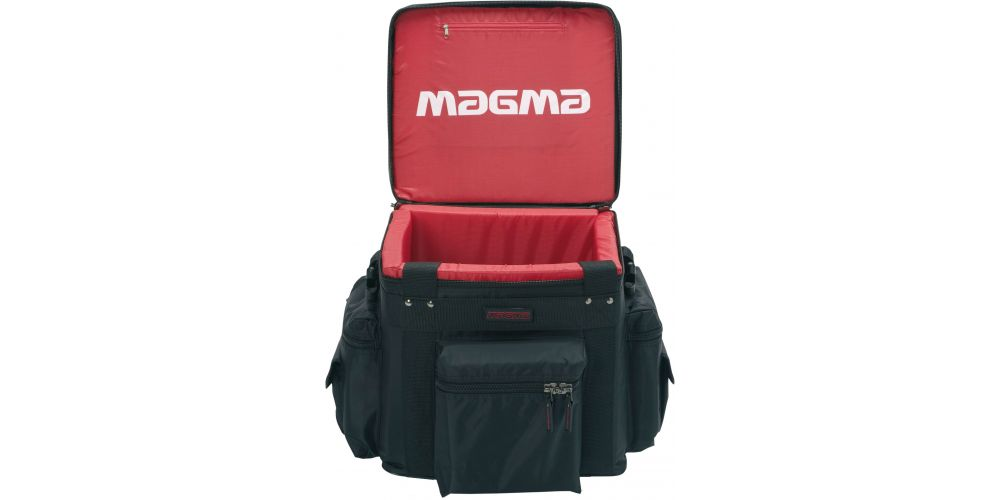 magma lp bag 100 profi black red