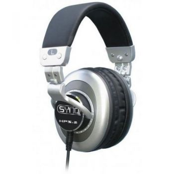 Synq HPS-2 Pro Auriculares Profesionales DJ. Impedancia: 29 ohmios