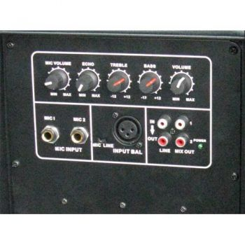 IBIZA SOUND XTK10A, Altavoz Activo 10 Pulgadas, 300 W