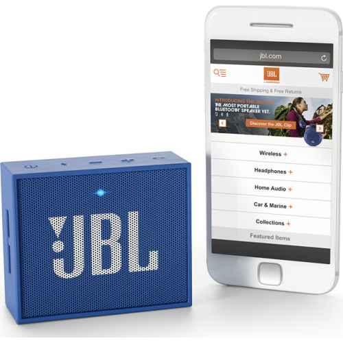 JBL GO Azul Altavoz Bluetooth Con Bateria