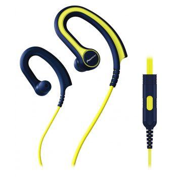 PIONEER SE-E711T-Y Auricular Clip SPORT Yellow