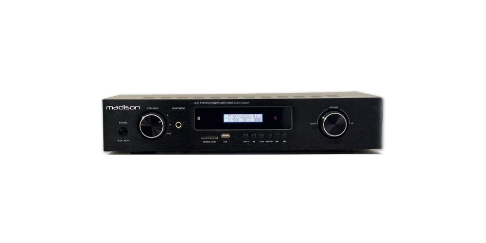 MADISON KODA MAD 1400BT Amplificador Bluetooth USB SD 2*180W