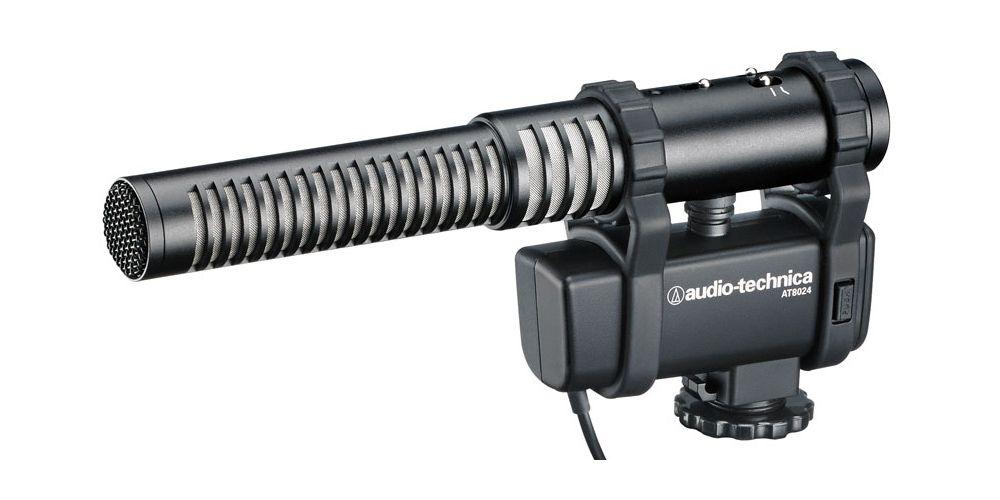 AUDIO TECHNICA AT 8024 Microfono de cañon corto para camara