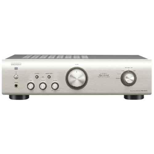 denon pma520 silver amplificador plateado