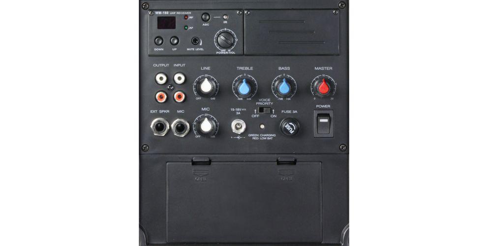 trasera altavoz ROADBOY LDsystems RB65B6