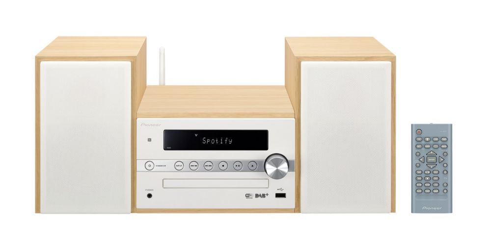 PIONEER XCM66D WHITE