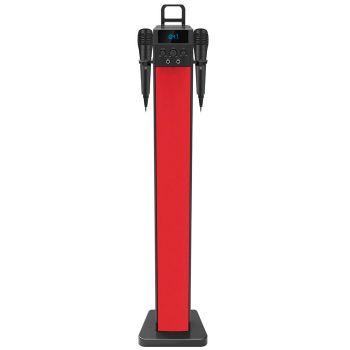 NEVIR NVR-833TBTUK Torre De Sonido 2.0 Bluetooth Rojo
