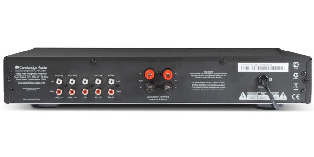 cambridge audio topaz am5 conexiones
