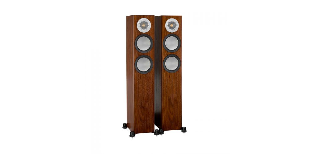 monitor audio silver 200 walnut