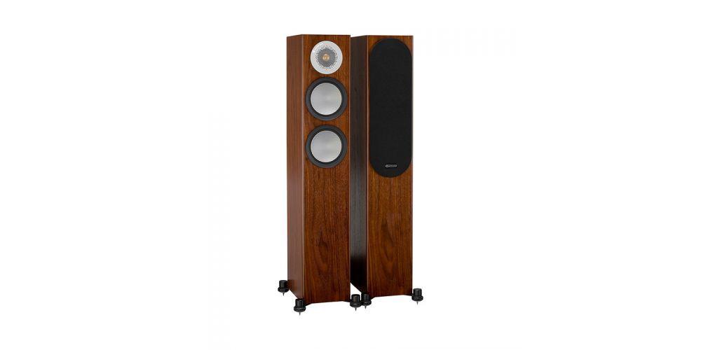monitor audio silver 200 walnut altavoces de pie