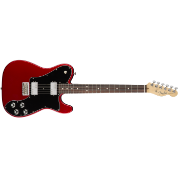 Fender American Pro Telecaster Deluxe ShawBucker Rosewood Fingerboard Candy Apple Red