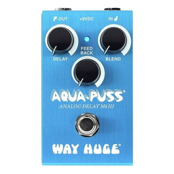 Way Huge Smalls Aqua-Puss Pedal Delay Analogico Mk II