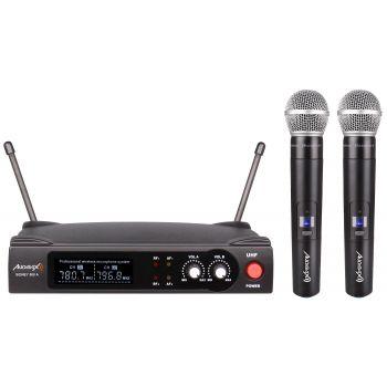 Audibax Sidney 500 B Micrófono Inalámbrico UHF Doble Mano ( REACONDICIONADO )