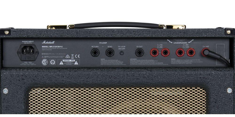 marshall sc20c combo guitarra conexiones