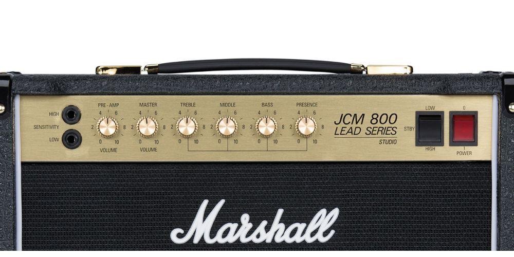 marshall sc20c combo guitarra controles