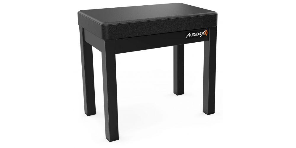 Audibax KB200B Banco Almacenaje Negro MH
