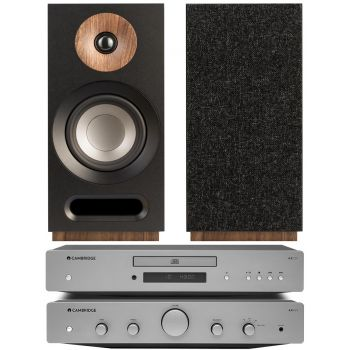 CAMBRIDGE AXA25+AXC25+Jamo S803 Black Conjunto audio