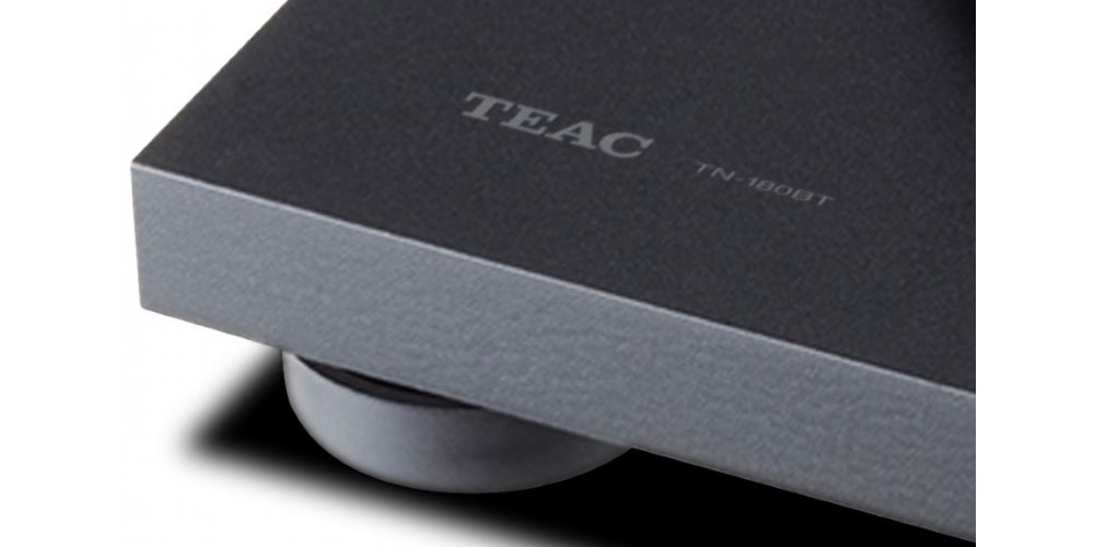 TEAC TN 180 BT Black Giradiscos Bluetooth control velocidad