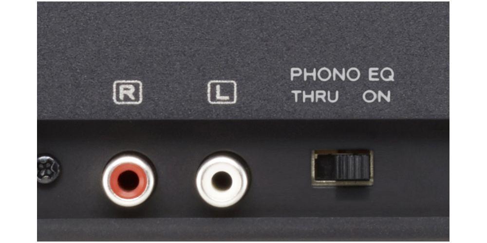 TEAC TN 180 BT Black Giradiscos Bluetooth control velocidad aguja