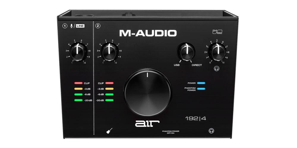 m audio air 192 4 vocal studio front