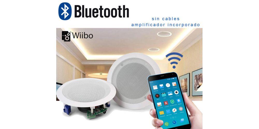 altavoces bluetooth techo wiibo