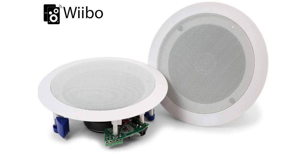 altavoces de instalacion bluetooth 40w wiibo