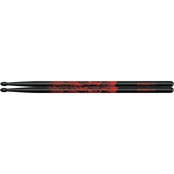 Tama 5A-F-BR Baquetas Rhythmic Fire Red
